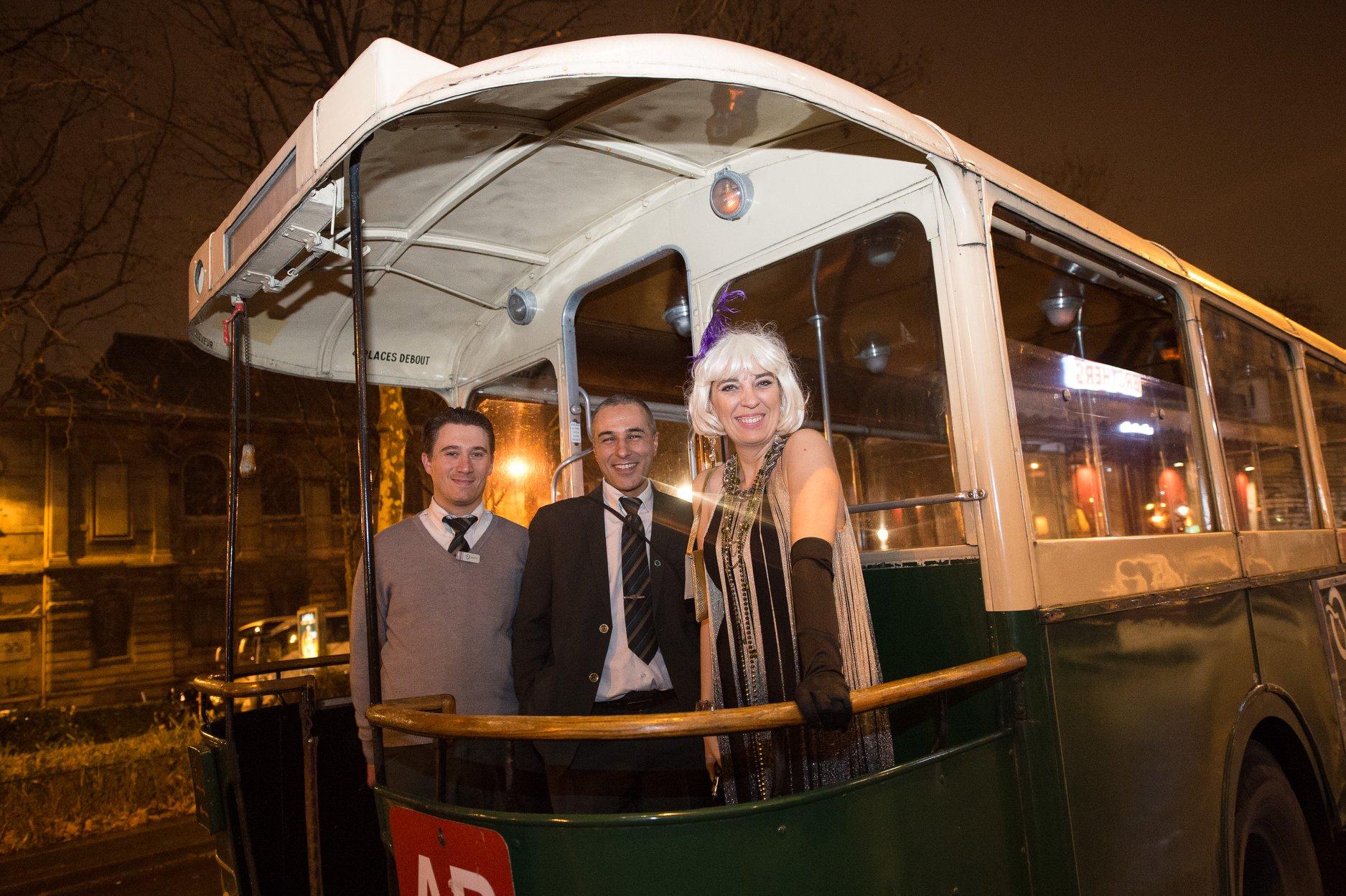 Location bus Années 30 pour soirée Années Folles