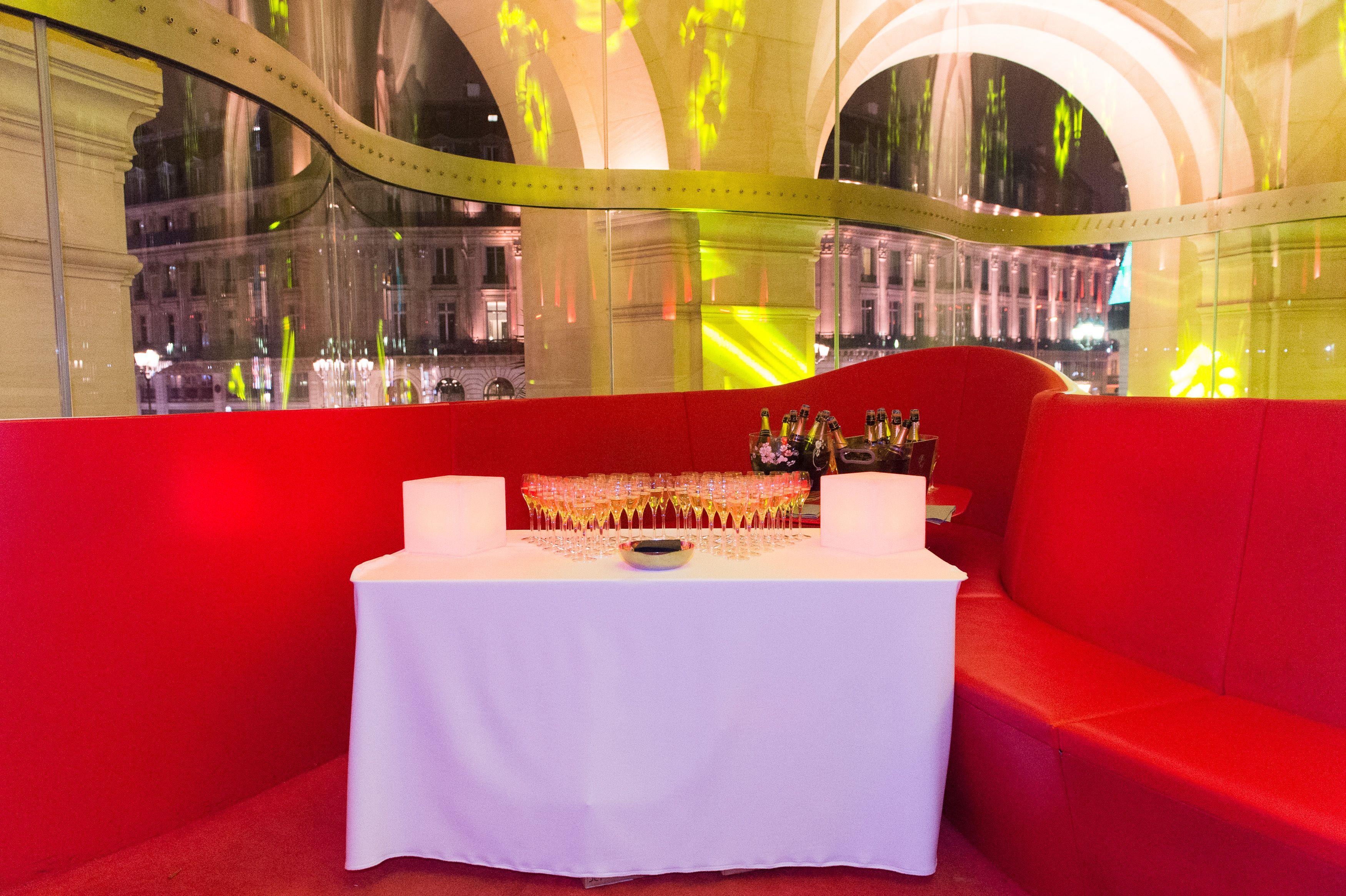 Cocktail dinatoire au Restaurant Opéra | Thème Brésil | Décembre 2017 | 500 pers.