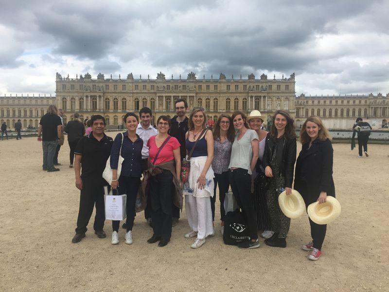 Teambuilding Vélo / Segway / à pied dans le parc du Château et à Versailles Juillet 2017 - 50 pers.