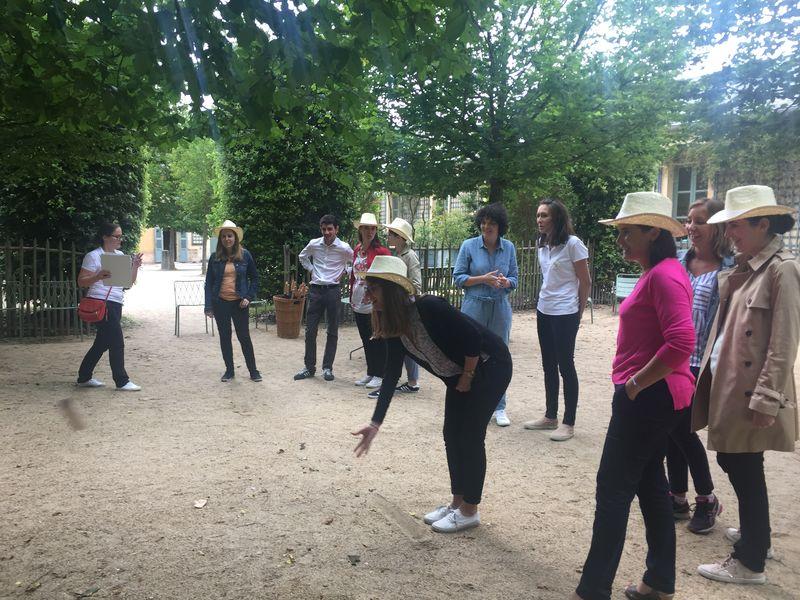Teambuilding multiactivités Les Petites Ecuries de Versailles Juillet 2017 - 50 pers.