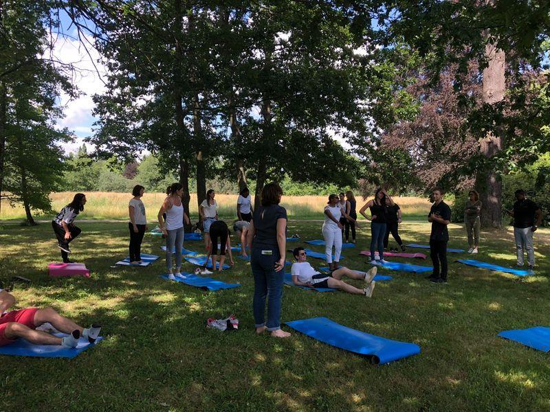 Teambuilding Activité Zen Château de Courson - Juillet 2018 - 120 pers.