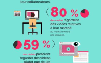 Infographie : La vidéo d'entreprise