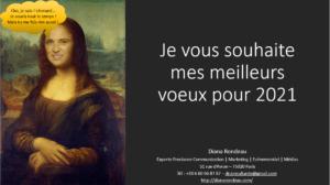 carte de voeux 2021 de Diana Rondeau