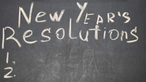 New Years News Resolutions