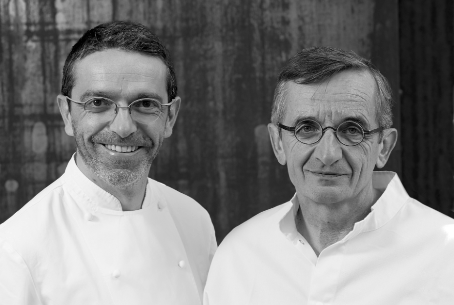 Sébastien et Michel Bras